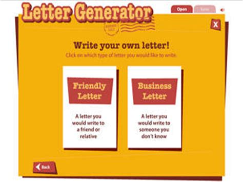 read write think postcard template letter generator readwritethink