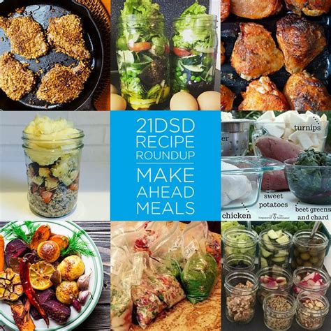 Make Ahead Detox Lunches by 61 Best 21dsd Recipe Roundups Images On