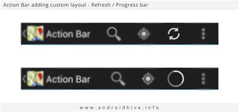 android layout no action bar android working with action bar tutorial