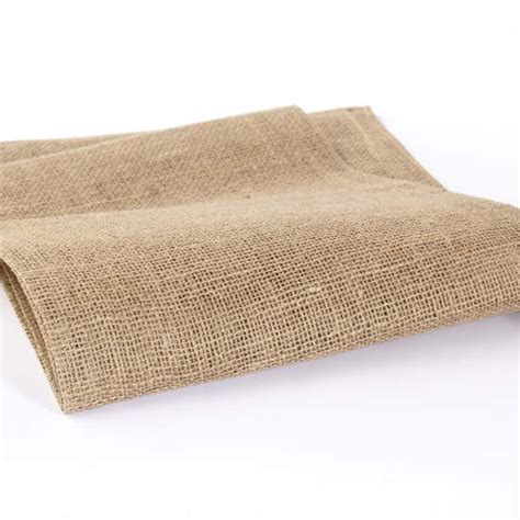 woven jute burlap table runner textiles and