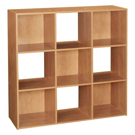9 cube bookcase black black white natural 3 tier 9 cube wooden bookcase display
