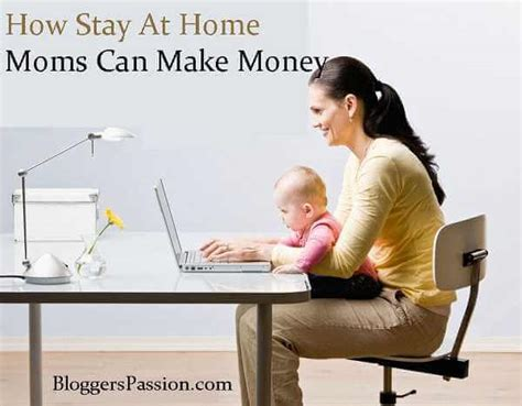 how stay at home can make money blogging