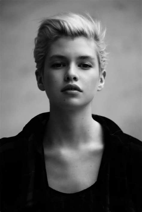 swept back styles blonde with swept back bangs perfect pixie pinterest