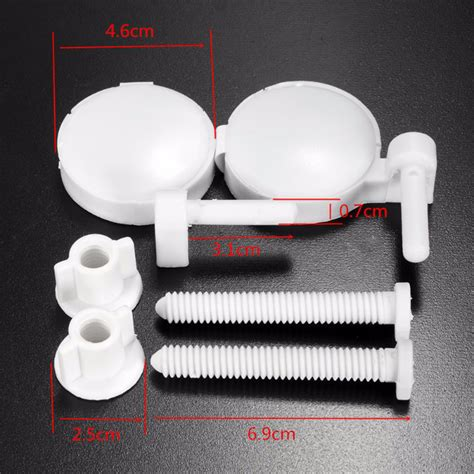 plastic toilet seat bolt covers 2pcs 202d abs plastic toilet seat lid cover screws
