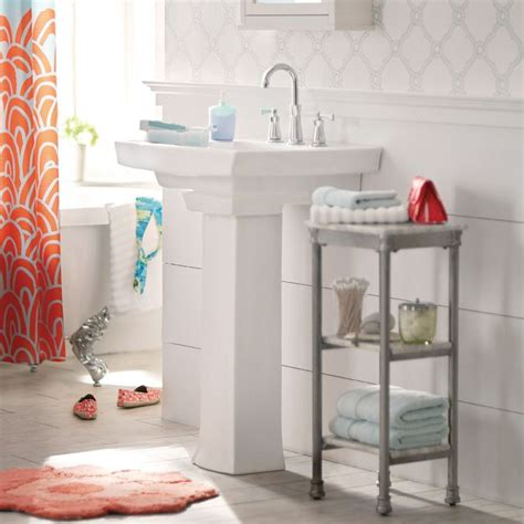 sink storage ideas 1000 ideas about pedestal sink storage on