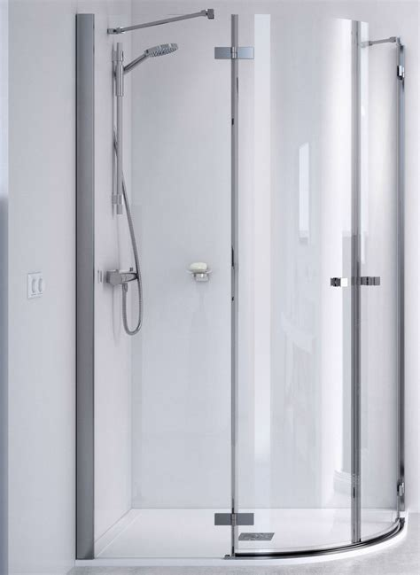 Aqualux Shower Doors Aqualux Id Match Square 800 X 800mm Quadrant Shower Enclosure 1192215