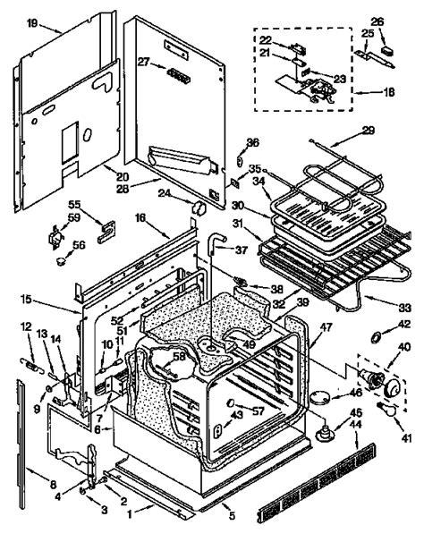kenmore appliance parts diagrams kenmore stove parts diagram hotpoint stove parts diagram