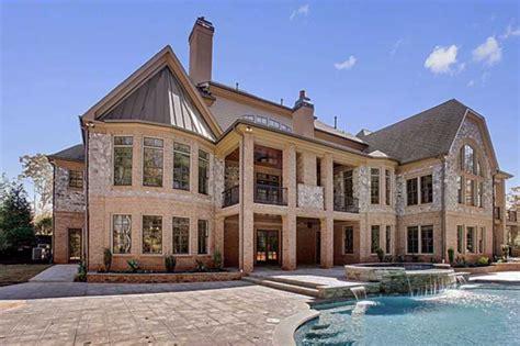 luxury homes in alpharetta ga 3 9 million newly built 16 500 square foot mansion