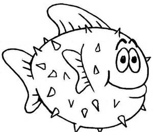 fish coloring book pages coloring