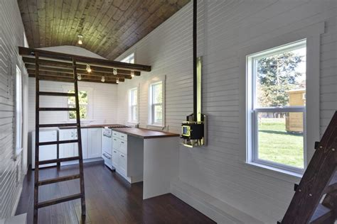 tiny house with loft quot the loft quot provides a generous 224 square foot layout