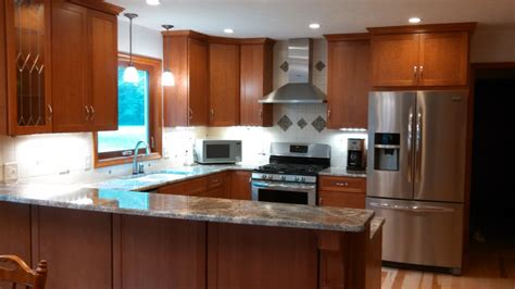 Kitchen Remodel Custom Cabinetry And Stone Counters