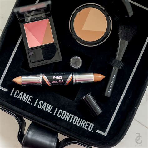 Maybelline V easycontouring with maybelline v contour by studio