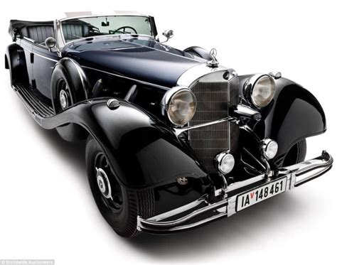 Hitler Auto by Hitler S 1939 Armor Plated Super Mercedes Up For Auction