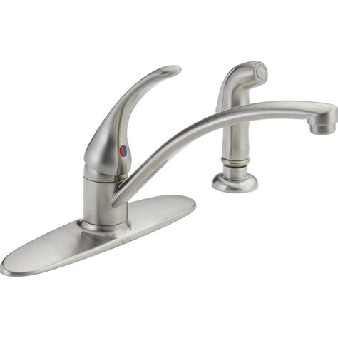 delta kitchen faucet repair rp50587 luxury delta diamond seala delta single handle kitchen faucet cartridge leaking