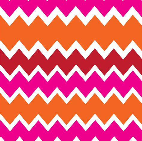 design zig zag pattern square feathers