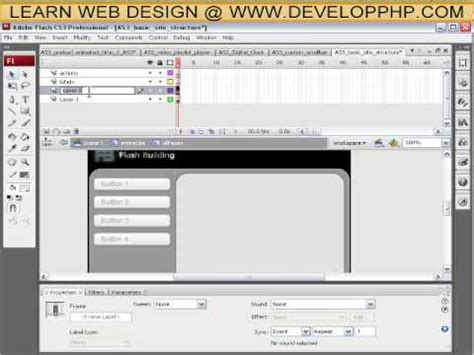 tutorial flash cs4 pdf how to structure a full flash actionscript 3 web site