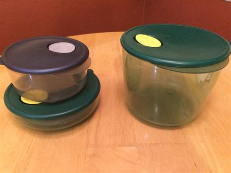 Tupperware Rock N Serve 3 tupperware rock n serve containers saanich