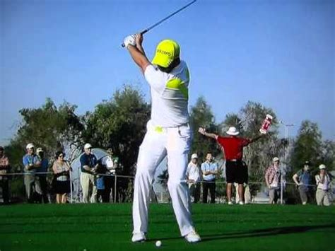 sergio garcia swing slow motion swing vision sergio garcia 2009 1wd slow motion by carl
