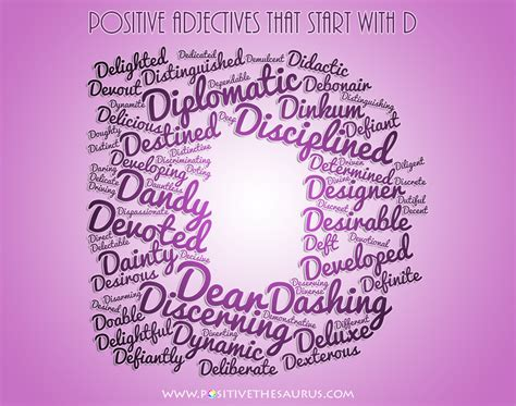 4 Letter Words Positive pictures of words that begin with the letter d the