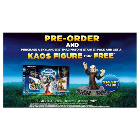 Kaos Look To Your Left Nm7p5 a closer look at kaos and his box skylanders character list