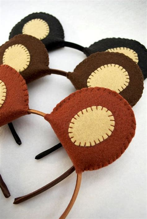 teddy ears headband template 25 best ideas about costume on