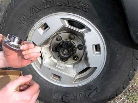 installing mile marker hubs on a wd21 pathfinder youtube