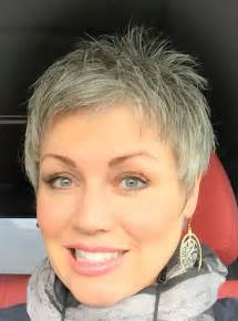pixie grey hair styles best 25 short gray hairstyles ideas on pinterest