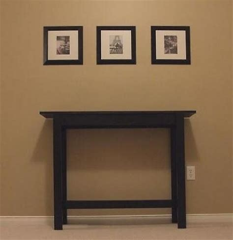 build sofa table build your own console table diy