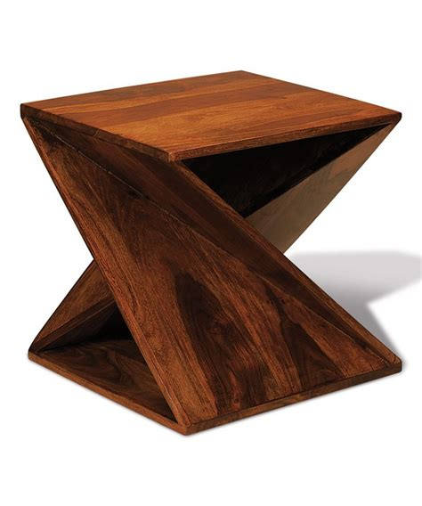twisted wood side table twisted wood table home outdoor decor