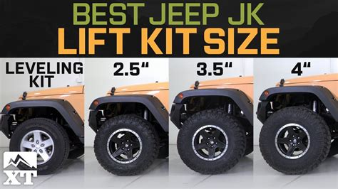jeep leveling kit jeep wrangler jk leveling kit vs 2 5 quot vs 3 5 quot vs 4 quot how