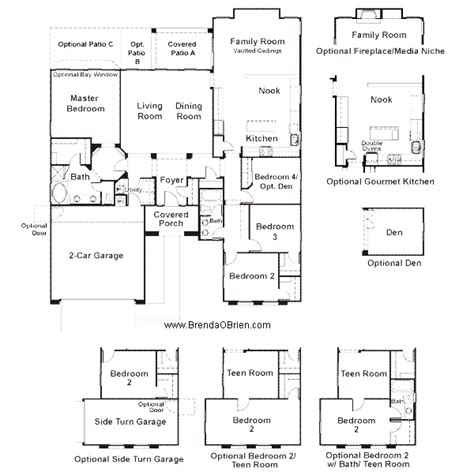 tangerine crossing floor plan premier series vanderbilt model