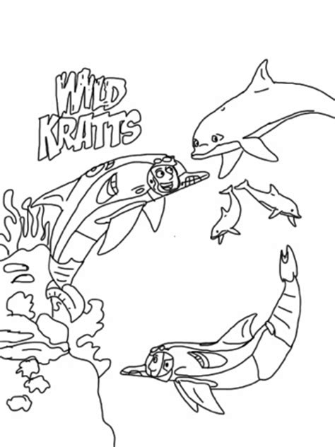 wild kratts coloring pages fantasy coloring pages
