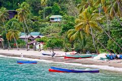 st. lucia soufriere stock image. image of hideaway