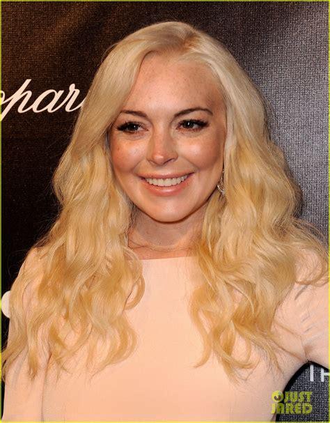 Lindsay Lohan Golden by Lindsay Lohan Golden Globes After Photo 2618812