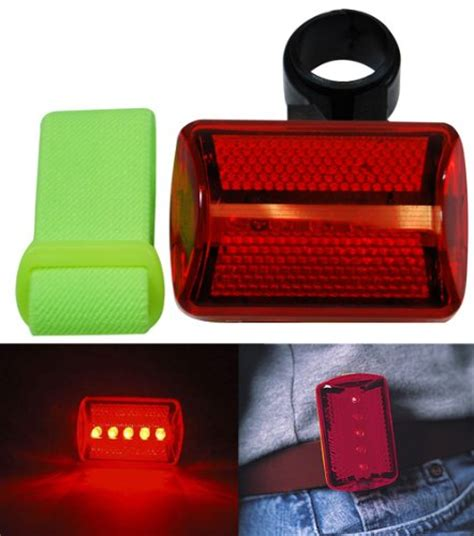 red table runner with 5 led lights lights reflectors 5 led bike runners joggers 7 function safety light w arm band
