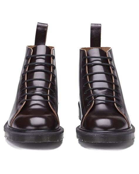 Dr Martens 156169 Made In Docmart Dr Martens dr martens s made in les lace to toe leather boots in for lyst
