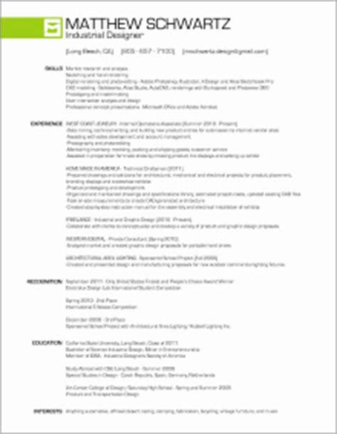 industrial design resume exles industrial designer resume resume ideas