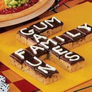 Scrabble Brownies Recipe Taste Of Home