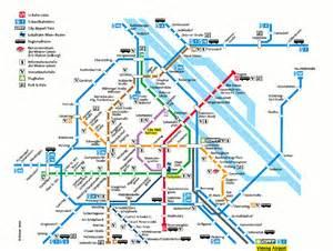 Vienna Subway Map by Vienna Subway Map Travel Map Vacations