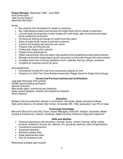 Construction Framer Resume by Custom Framer Resume Dradgeeport133 Web Fc2