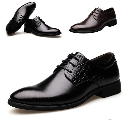 pointed toe business dress formal shoes casual flat