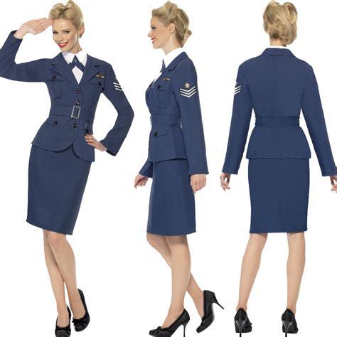 world war 2 outfits ladies ww2 raf 1940s british airwoman fancy dress uniform