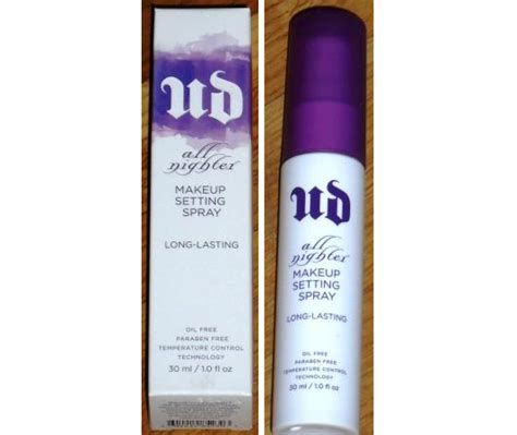 Base Decay Setting Spray test make up fixing spray decay all nighter