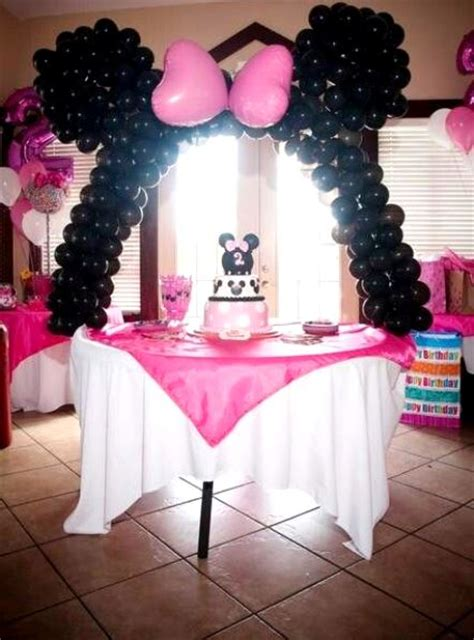 Minnie Mouse Birthday Decoration Ideas by Minnie Mouse Birthday Ideas Pink Lover