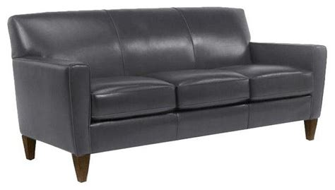 digby sofa flexsteel quot digby quot leather sofa contemporary sofas by