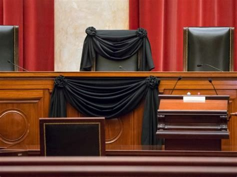 supreme court bench supreme court drapes scalia s bench chair in black breitbart