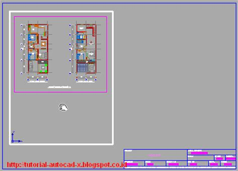 cara layout peta di autocad prinsip cara melakukan layout gambar di autocad tutorial