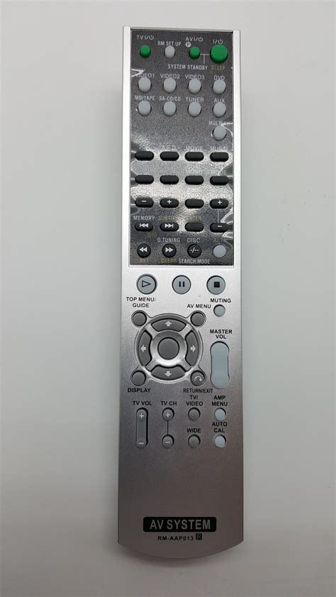 remote av system sony rm aap candi audio visual