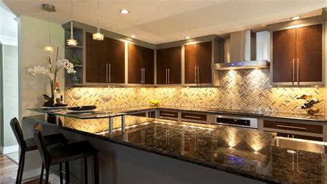 Cheap Kitchen Backsplash Ideas Pictures by Led Light Design Under Cabinet Led Stripe Lighting Ideas