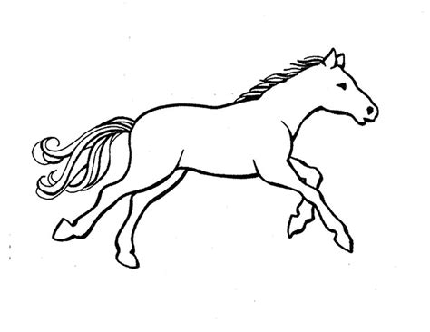horse coloring page pdf horse template animal templates free premium templates